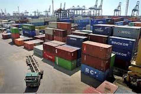 Pelabuhan bukan untuk menimbun barang