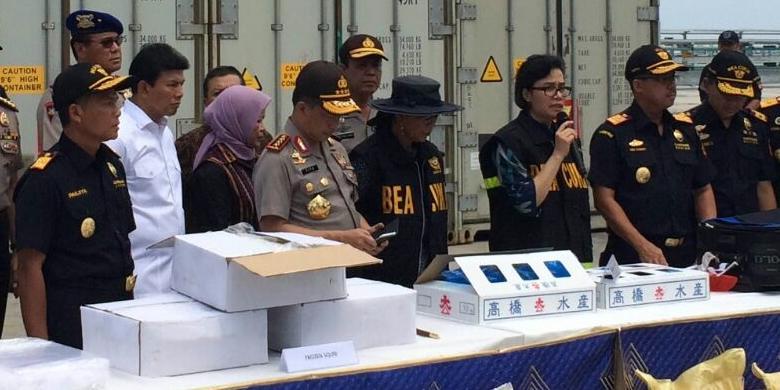 Susi & Sri tangkap kargo bahan peledak asal Malaysia