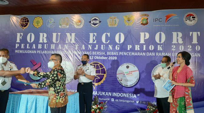 Forum Ecoport Tanjung Priok Untuk Fokus Perhatikan Lingkungan