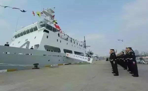 Kapal perang Cina sandar di terminal kontainer JICT, audit disoal