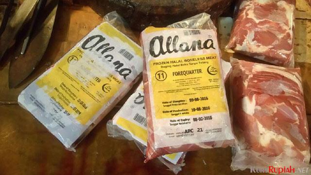 Legal VS ilegal daging kerbau impor dari India yang masuk ke Priok…