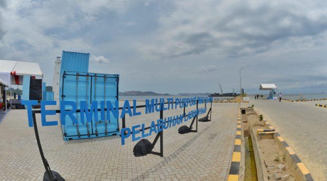 Terminal Multipurpose Wae Kelambu untuk Topang Layanan Logistik