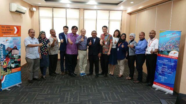 Logistik asal Shanghai minati halal hub di Priok