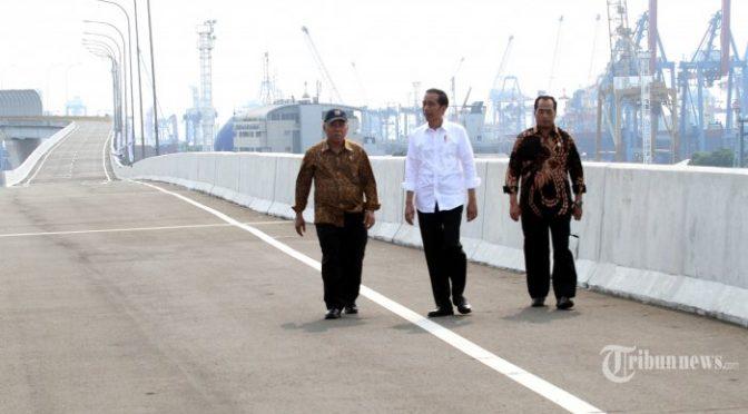 PeraJokowi luncurkan sistem perijinan online pabeann logistik dalam anomali perekonomian Indonesia