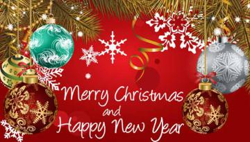 Selamat Hari Natal & Tahun Baru 2017