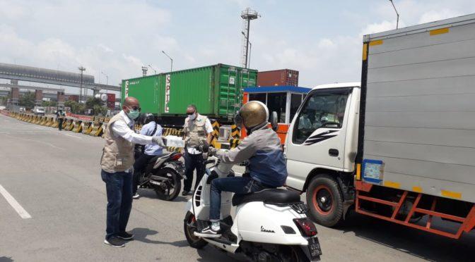 ALFI Gelar Aksi Peduli di Kawasan Pelabuhan Priok