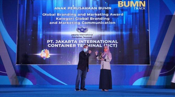 JICT Raih Penghargaan BUMN Branding & Marketing Award 2020