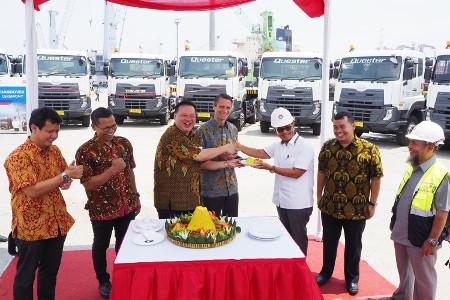 Kebutuhan truk logistik di Priok semakin besar
